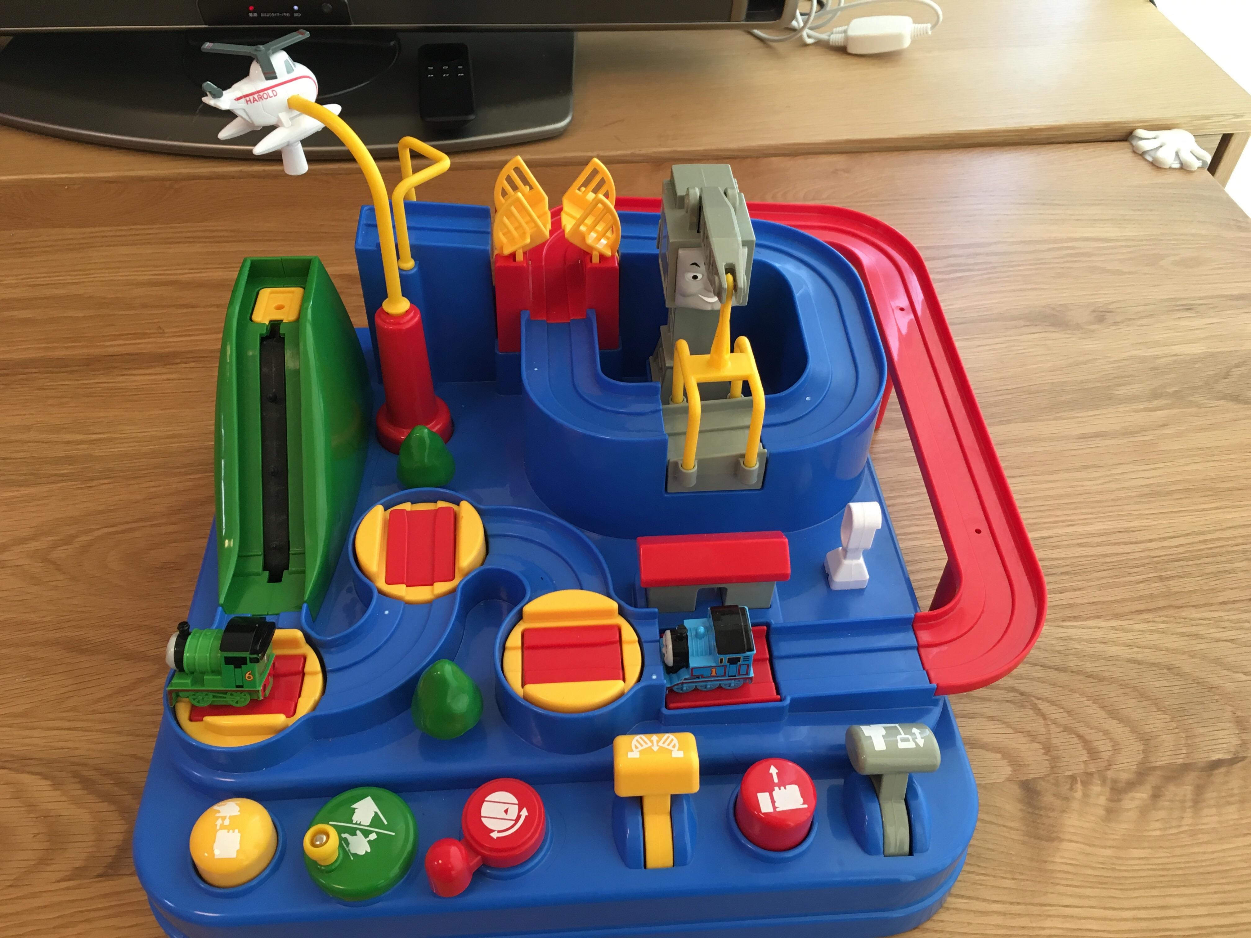 買ってよかったおもちゃ:トーマス レッツゴー大冒険