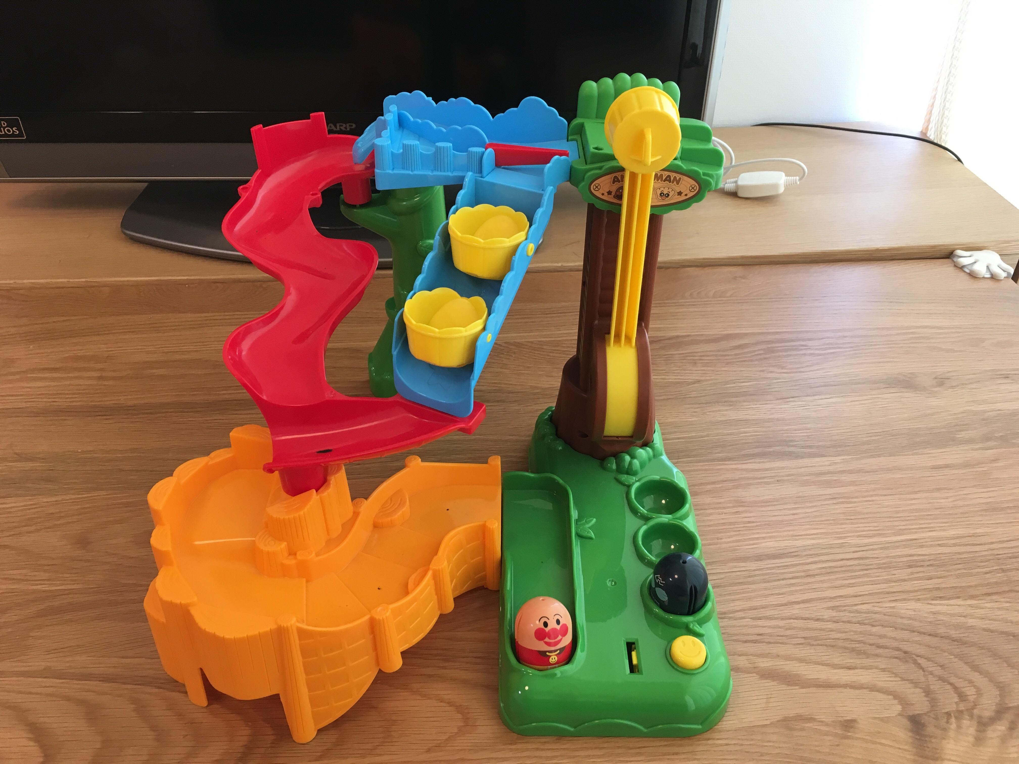 買ってよかったおもちゃ:アンパンマン それいけコロコロパーク