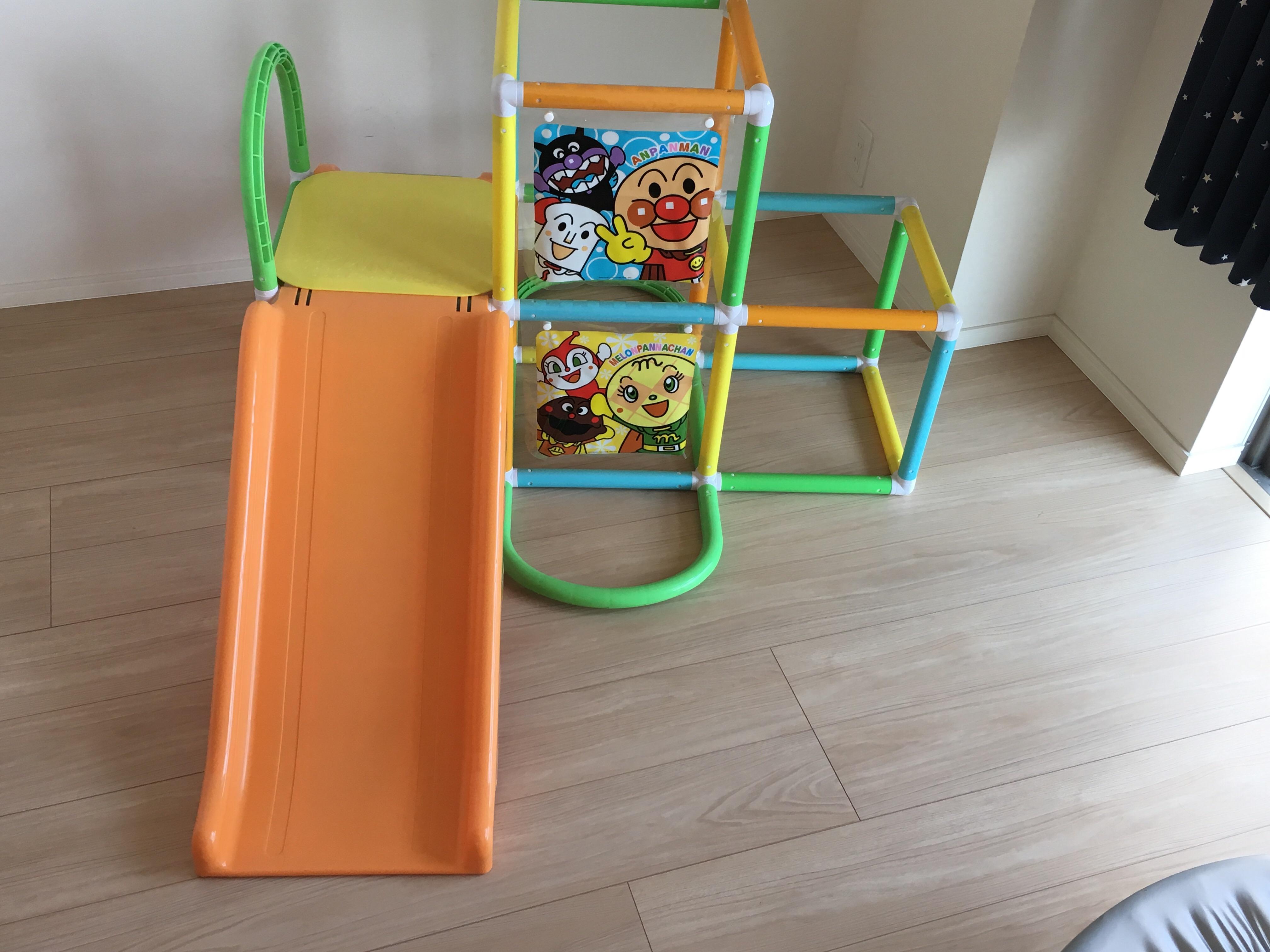 買ってよかったおもちゃ:アンパンマンのジャングルジム