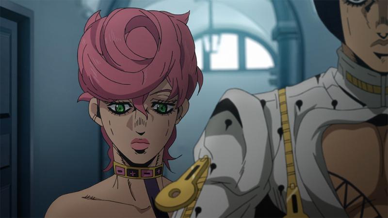 © TVアニメ「ジョジョの奇妙な冒険第5部-黄金の風-」/ Episodio 20