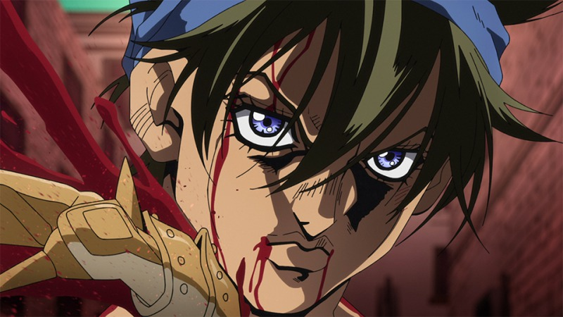 © TVアニメ「ジョジョの奇妙な冒険第5部-黄金の風-」/ Episodio 23