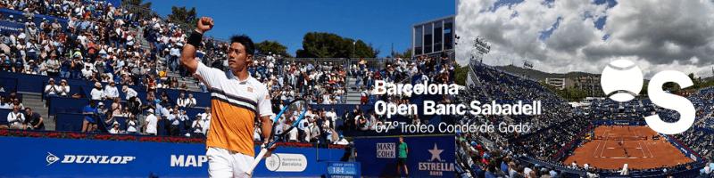 錦織圭出場試合:バルセロナ・オープン・バンコ・サバデル(Barcelona Open Banc Sabadell)