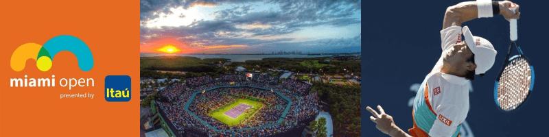錦織圭出場試合:マイアミ・オープン2019(Miami Open)