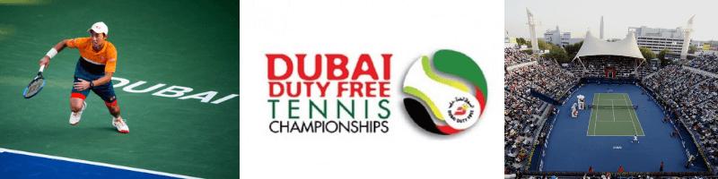 錦織圭出場試合:ドバイ・デューティーフリー・テニス選手権2019(Dubai Duty Free Tennis Championships)