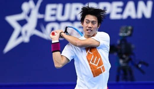 【錦織圭】アントワープ ヨーロピアン・オープン2020動画ハイライト・ドロー・試合速報まとめ|ATP250